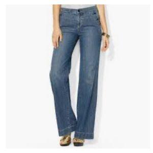 Women's Wide-legged Ralph Lauren Lido Jeans